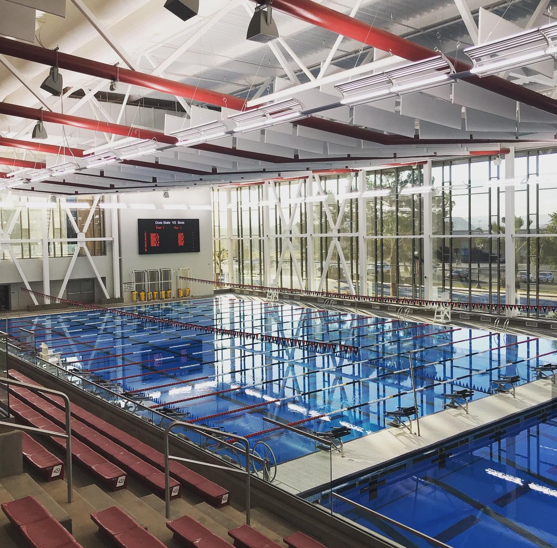 Dixie State University - Human Performance swimming pool